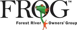 Vist the Forest River Owners' Group (FROG) website
