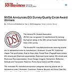 RVDA Announces DSI Survey/Quality Circle Award Winners : RV Business - Dec 2, 2020