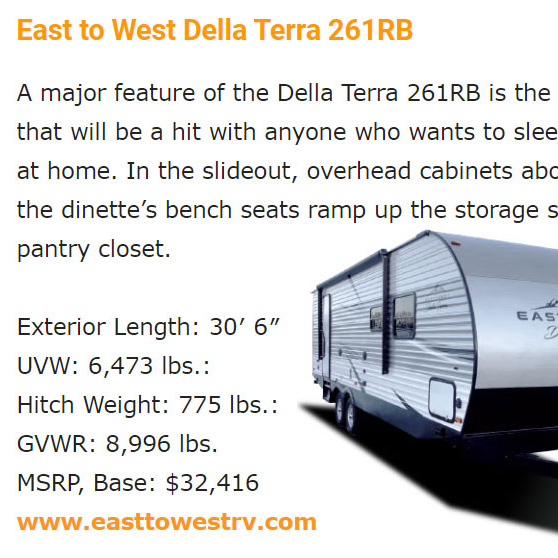 trailerlife.com - Meet the fleet 22 travel trailers for 2020